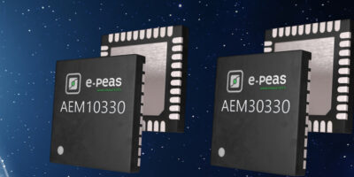 PMICs use low battery voltages for energy harvesting from solar, RF and vibration