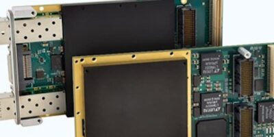 Two XMC modules secure configuration with Xilinx FPGAs