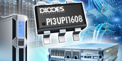 Eight-channel ReDriver has PCIe 4.0 interfaces