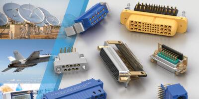 Lane Electronics adds Positronic's hi-rel connectors
