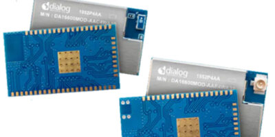 Mouser adds Wi-Fi + Bluetooth LE modules from Dialog Semiconductor