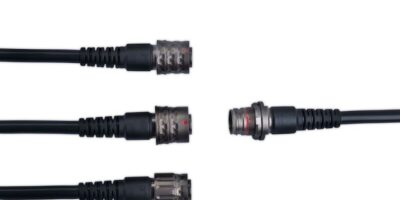 Three in one locking options add security for AMC Series T connectors