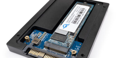 Metal adapter brings flexible, affordable U.2 SSD storage, says OWC