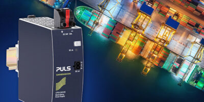480W DIN-rail power supply can be used in ship's bridge or deck