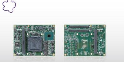 COM Express Type 6 module balances performance with power