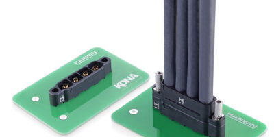 Powell Electronics adds Harwin's Kona hi-rel power connectors