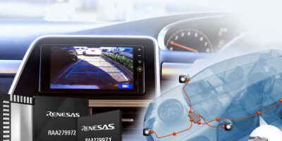 Renesas enables HD video over SD cables for automotive cameras