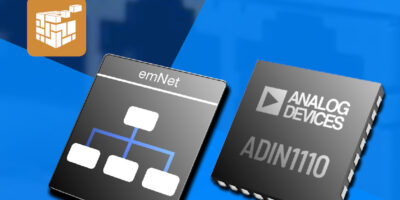 Segger collaborates with Analog Devices to develop industrial Ethernet comms
