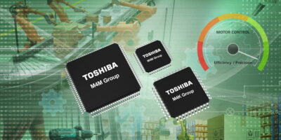 Toshiba introduces initial Arm Cortex-M4 microcontroller for motor control