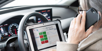 Diagnostic vehicle tester adopts a plugin approach