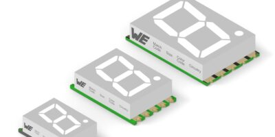 Two series of seven-segment displays reduce low power consumption