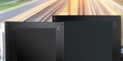 Rugged panel PCs are designed for interactive rail applications