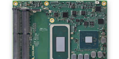 COM Express module is based on Intel Core, Xeon and Celeron 6000 processors