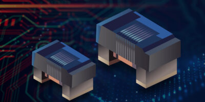 Chip inductor offers high Q in a miniature size