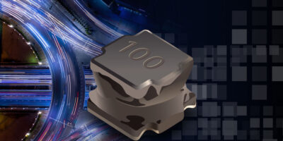 Automotive-grade semi-shielded power inductor serves harsh environments