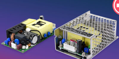 Medical power supplies are designed for applications with limited space