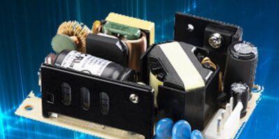 Components Bureau adds Cincon's CFM70S open frame power supply series