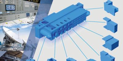 Positronic's Scorpion connector offers modular configuration, says Lane Electronics