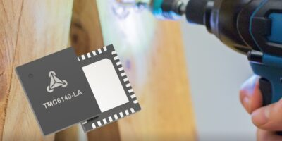 Three-phase MOSFET gate driver simplifies BLDC design and improves efficiency