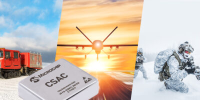 Chip scale atomic clock (CSAC) is designed for mission-critical military projects