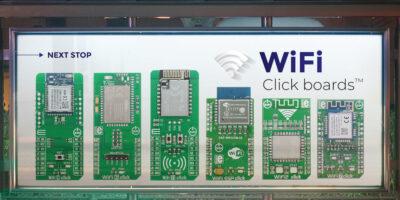 Wi-Fi 8 Click board brings Wi-Fi to the masses