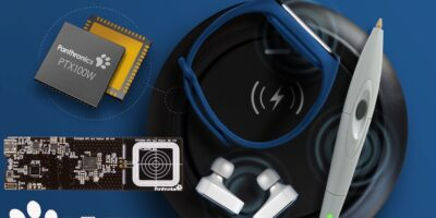 Reference design for NFC wireless charging is based on Panthronics' PTX100W