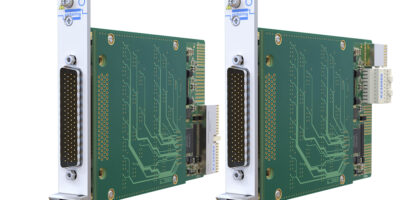 PXI/PXIe multiplexer module supportsMIL-STD-1553 testing