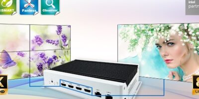 """8K digital signage player based on 11th Gen Intel Core sees """"performance uplift"""""""