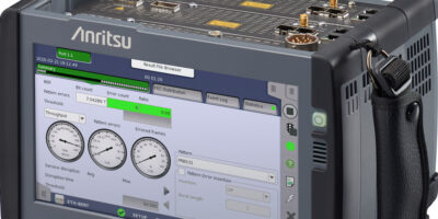 Anritsu upgrades Network Master Pro with 400GbE measurement