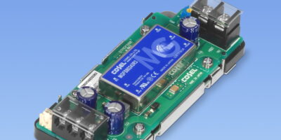 Cosel adds 80W DC/DC converter for industrial voltage ranges