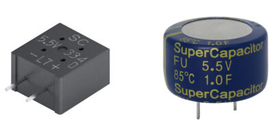 Supercapacitors from Kemet are for automotive use