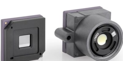 Thermal imager has embedded image signal processing and lens option
