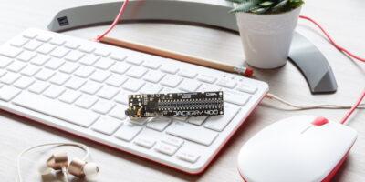 Raspberry Pi 400 with audio I/O is exclusive to OKdo