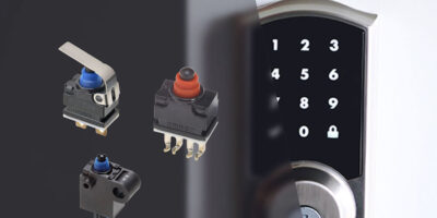 Sealed micro switches endure wet or dusty environments