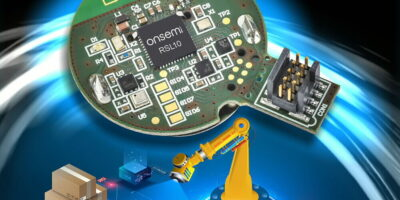 Low power asset tag excels with five year battery life, says onsemi