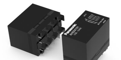 PCB-based relay is a small box for the wall box for EV charging