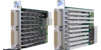 PXI / PXIe 5A power relay modules double the switching density