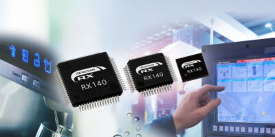 RX140 microcontrollers bring advance touch sensing to home and industry