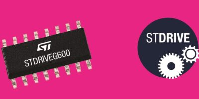 Single-chip GaN gate driver accelerates automation, says STMicroelectronics
