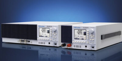 Programmable electronic DC operates in seven load modes