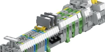 SNACompact terminal blocks save space between wire ducts