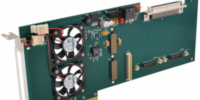 PCIe carrier card interfaces with XMC mezzanine for computing ease