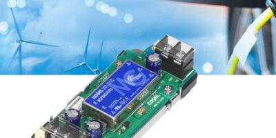 80W DC/DC converter meets transport and hi-rel applications