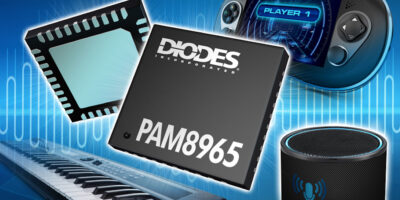Class-D stereo audio amplifier sounds good for power saving