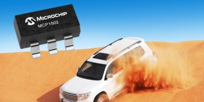 High-precision voltage reference IC provides low drift for extended-temperature automotive applications