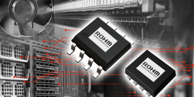 Dual MOSFETs use precision process for low on resistance