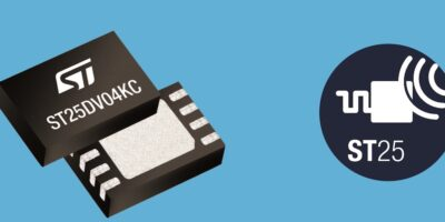 STMicroelectronics speeds in with new dynamic NFC-tag ICs