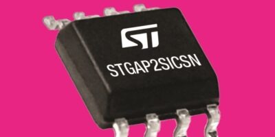 Isolated SiC gate drivers save space in narrow SO-8 package