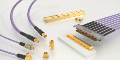 Samtec's SMPM micro-miniature connectors suit high-frequency applications
